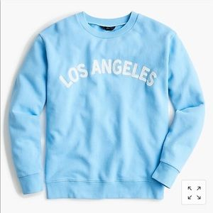 "J Crew ""Los Angeles"" Sweatshirt"